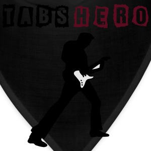 Tabs Hero Black Shirt - Bandana