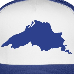 Lake Superior Women's T-Shirts - Trucker Cap