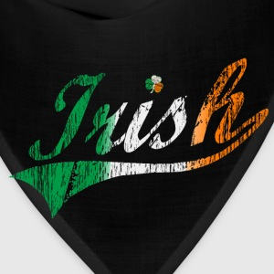 Distressed Irish Flag Swoosh Women's T-Shirts - Bandana
