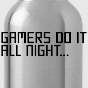Gamers Do It  Hoodies - Water Bottle