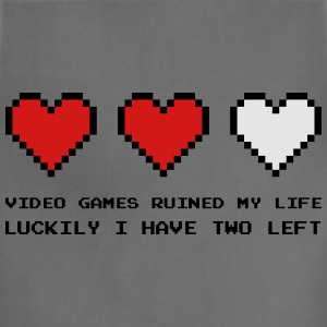 Video Games Ruined My Life Hoodies - Adjustable Apron