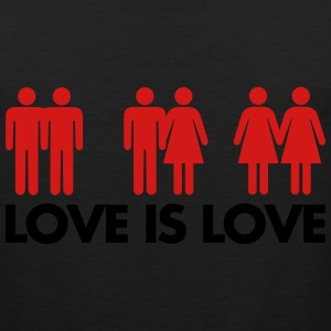 Love Is Love Women's T-Shirts - Men's Premium Tank