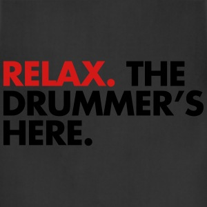 Relax, The Drummers Here  Women's T-Shirts - Adjustable Apron