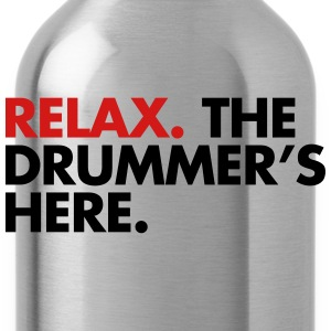 Relax, The Drummers Here  Women's T-Shirts - Water Bottle