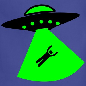 UFO Alien Kidnapping T-Shirts - Adjustable Apron