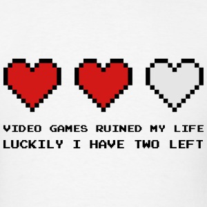 Video Games Ruined My Life Hoodies - Men's T-Shirt