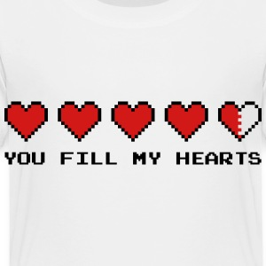 You Fill My Hearts  Kids' Shirts - Toddler Premium T-Shirt