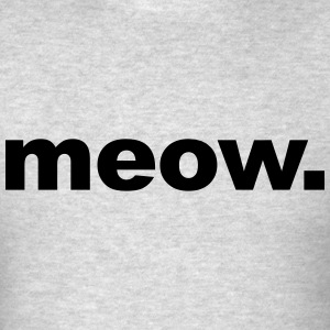 Meow. Long Sleeve Shirts - Men's T-Shirt