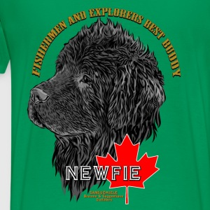 newfoundland_head Hoodies - Men's Premium T-Shirt