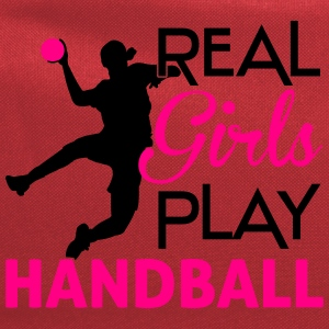 Real girls play Handball Women's T-Shirts - Computer Backpack