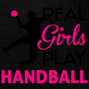 Real girls play Handball Women's T-Shirts - Bandana