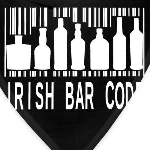 Irish Barcode Hoodies - Bandana