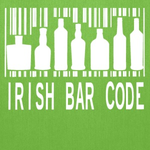 Irish Barcode Hoodies - Tote Bag