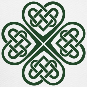 Celtic Heart Eternal Knot St Patricks Day Shamrock T-Shirts - Trucker Cap