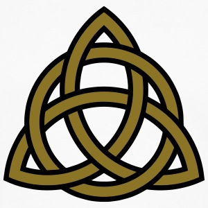 Irish Trinity Knot Triquetra Celtic Patricks Day T-Shirts - Men's Premium Long Sleeve T-Shirt