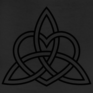 Triquetra Celtic Heart Trinity Eternal Love Knot   Hoodies - Leggings