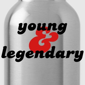 young & legendary T-Shirts - Water Bottle