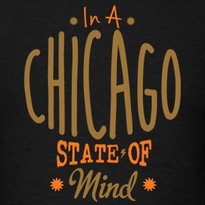Chicago State of Mind Apparel Clothing  Hoodies - Men's T-Shirt