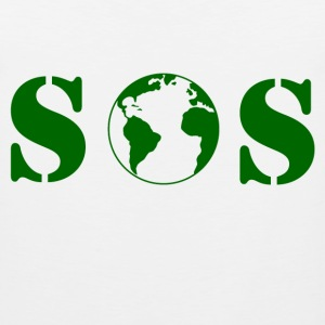 planet_sos T-Shirts - Men's Premium Tank