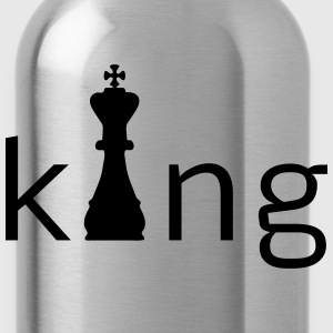 King Chess Caps - Water Bottle
