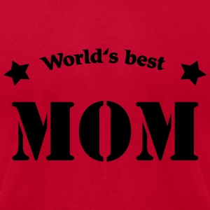 World's best Mom Long Sleeve Shirts - Men's T-Shirt by American Apparel