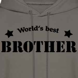 World's best Brother T-Shirts - Men's Hoodie