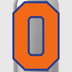 Sports Jersey - Number 0 (2-color custom) T-Shirts - Water Bottle