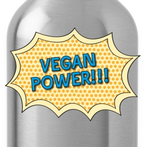vegan_power Kids' Shirts - Water Bottle