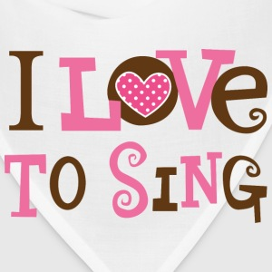 Choir I Love To Sing Women's T-Shirts - Bandana