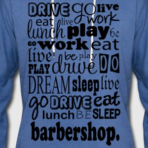 Barbershop Music Quote T-Shirts - Unisex Lightweight Terry Hoodie
