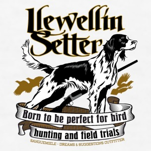 llewellin_setter Bottles & Mugs - Men's T-Shirt