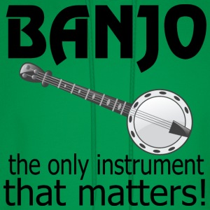 Funny Banjo Quote T-Shirts - Men's Hoodie