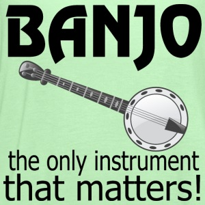 Funny Banjo Quote T-Shirts - Women's Flowy Tank Top by Bella