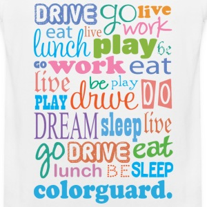 Colorguard Quote Women's T-Shirts - Men's Premium Tank
