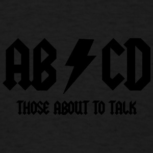 abcd Baby & Toddler Shirts - Men's T-Shirt