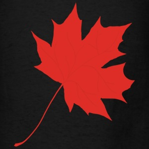Red maple leaf Bags & backpacks - Men's T-Shirt