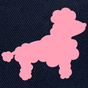 Poodle silhouette Women's T-Shirts - Snap-back Baseball Cap