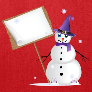 Snowman T-Shirts - Tote Bag