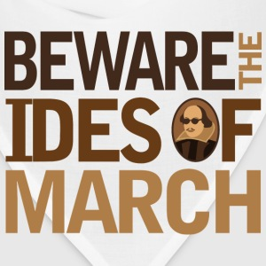 Shakespeare Beware the Ides Of March Women's T-Shirts - Bandana