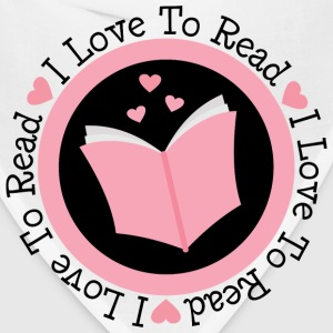 Reading I Love To Read Women's T-Shirts - Bandana
