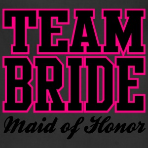 TEAM BRIDE: Maid of Honor Women's T-Shirts - Adjustable Apron