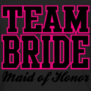 TEAM BRIDE: Maid of Honor Women's T-Shirts - Men's Premium Long Sleeve T-Shirt