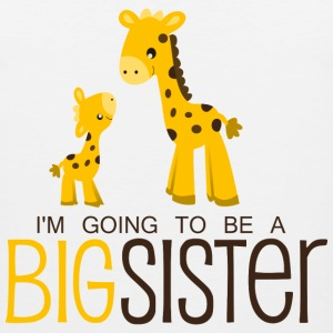 I am going to be a Big Sister Kids' Shirts - Men's Premium Tank