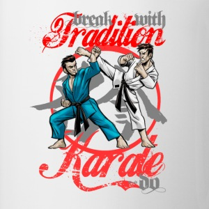 Karate-Do Break With Tradition - Coffee/Tea Mug