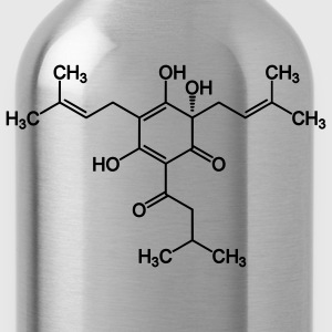 Humulone (flavour of beer) molecule T-Shirts - Water Bottle