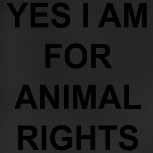 yes I am for animal rights Women's T-Shirts - Leggings