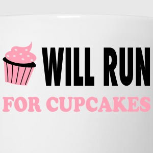 Will Run For Cupcakes - Workout Inspiration Women's T-Shirts - Coffee/Tea Mug