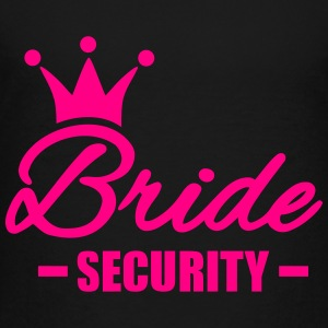 Bride Security Kids' Shirts - Toddler Premium T-Shirt