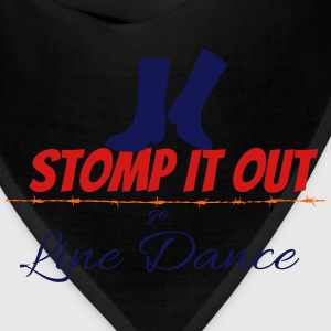 Line dance - Stomp it out Women's T-Shirts - Bandana