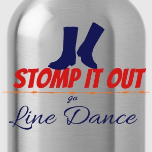 Line dance - Stomp it out Women's T-Shirts - Water Bottle